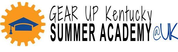 GEAR UP KY Summer Academy @ UK logo