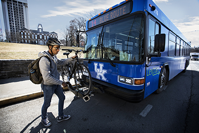 Loading a Bike on the Bus