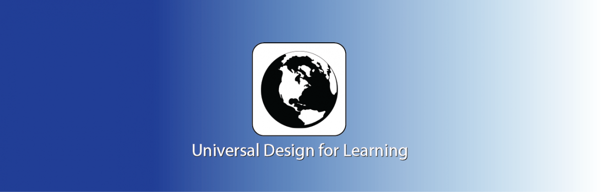 globe and text - Universal Design for Learning