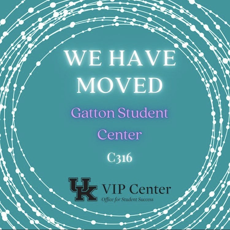 The VIP Center has a new location in the Gatton Student Center